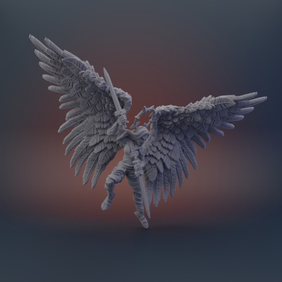 Celestial Guardian - Angelic FIghter