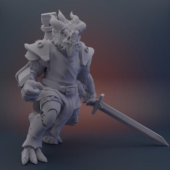 Dragonborn Artificer (B) - Arrodan Syndicate